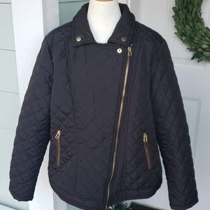 New look lightweight quilted jacket 1X nwot